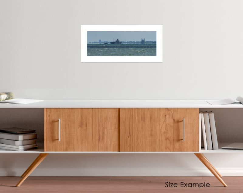 Whitstable Seascape Collectors Print