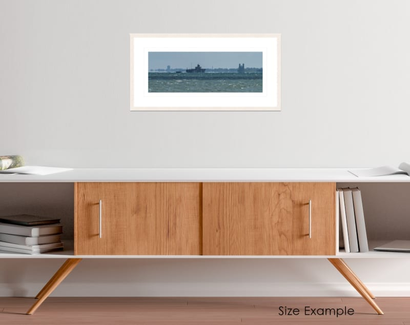 Whitstable Seascape Collectors Framed Print