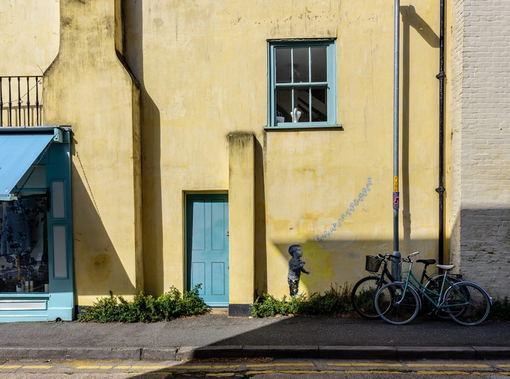 yellow wall in whitstable