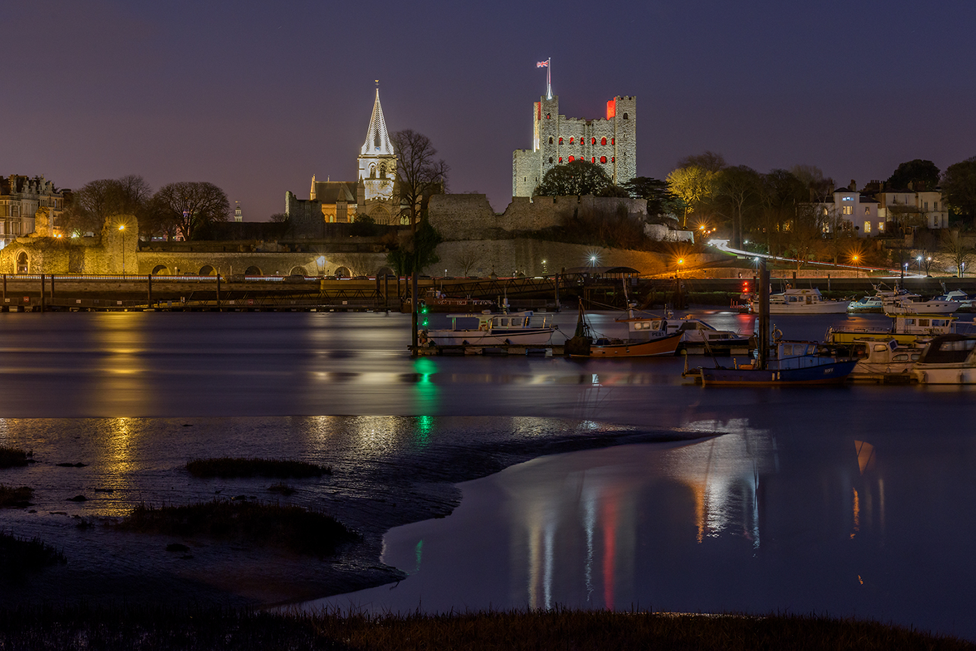 rochester at night print
