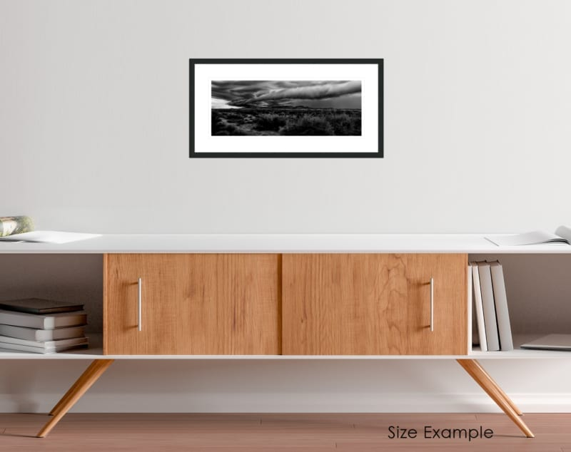 South Africa black and white collectors framed print 1