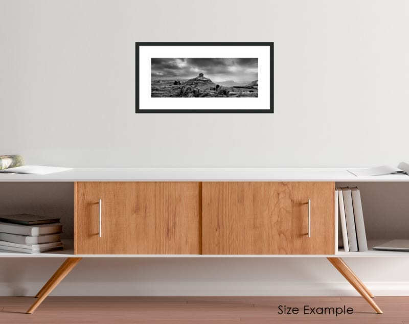 South Africa black and white collectors framed print 4