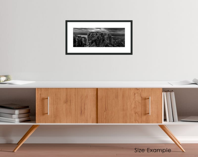 South Africa black and white collectors framed print 6