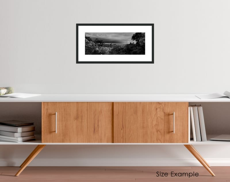 South Africa black and white collectors framed print 7