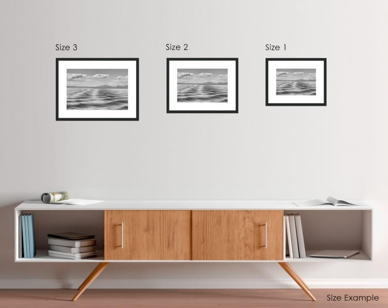 sea ripples from rum framed prints