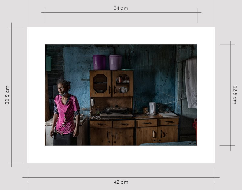 Girl in Her Kitchen Limited Edition Prints