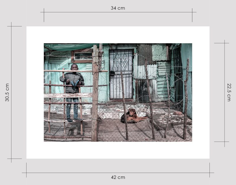 Boy in Barbed Wire House Limited Edition Prints