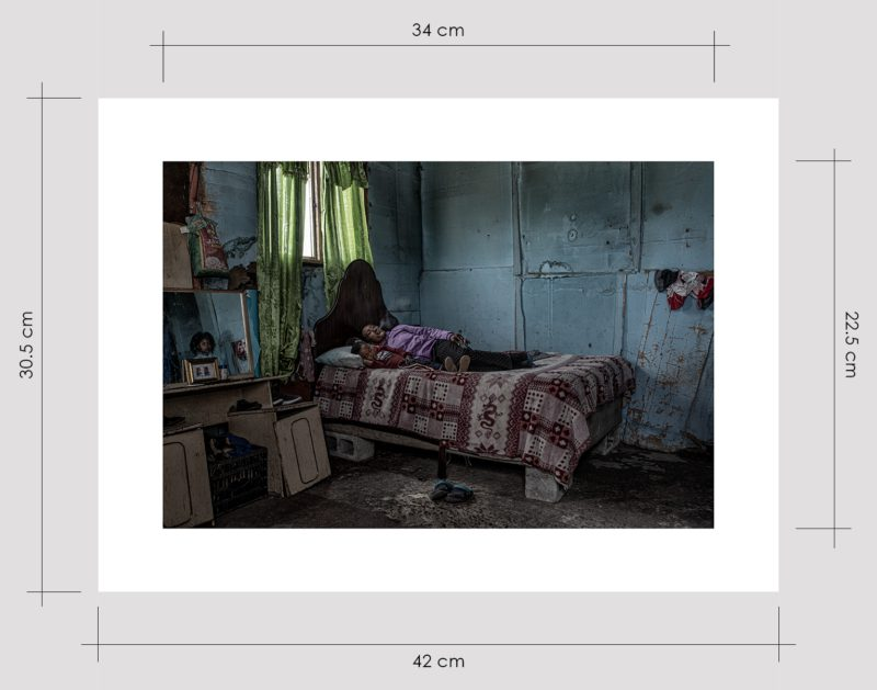 Granny Smoking in Her Bedroom Limited Edition Prints