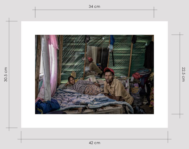 Couple in One Room Shack Limited Edition Prints