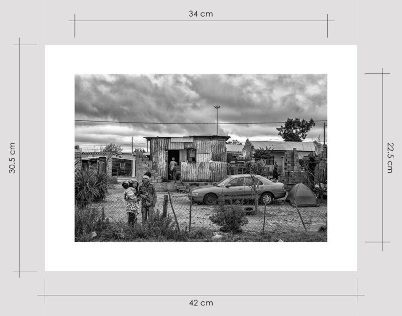 Shack on Cement Blocks Limited Edition Prints