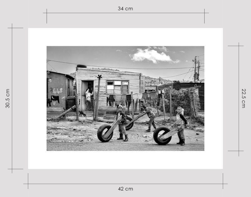 Street Racing in Naledi Limited Edition Prints